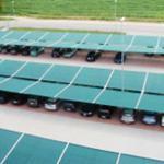 Tettoia parcheggio con  copertura - Car parking structures